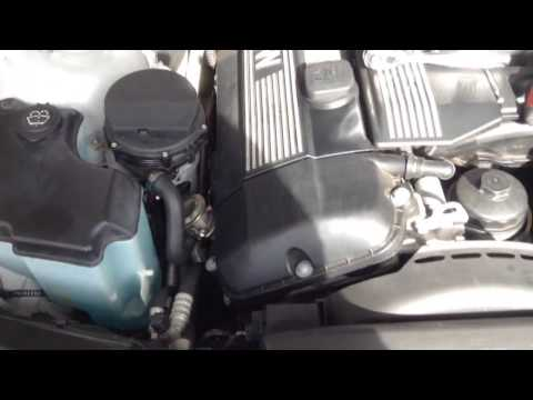 BMW 325i Secondary Air Pump and EGR Valve Test  - E46 M54 Engine