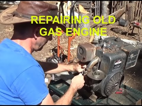 Cleaning Carburetor On Old 11 HP Briggs & Stratton Engine