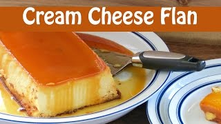 Easy Cheese Flan The Frugal Chef