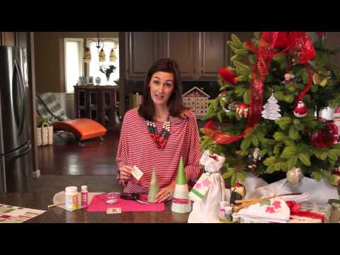 Seasonal Paper Mache for the Holidays : Christmas Tree Decorations & Tips
