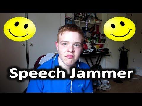 Speech Jammer Fun | Aaron