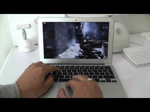 MacBook Air 2012 COD MW3 Gaming Test HD4000 Graphics