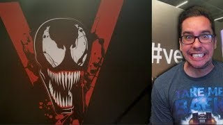 Venom Movie Logo Spotted at CCXP