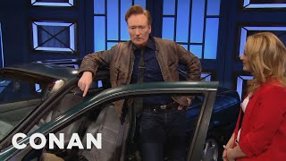 Conan Insures His Most Prized Possession  - CONAN on TBS