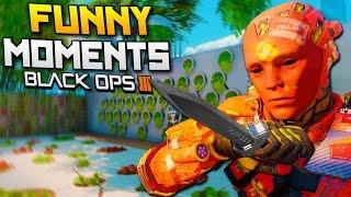 Black Ops 3 Funny Moments - Killcams, Ballistic Knife, Veteran Bot! (BO3)