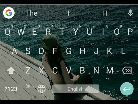 How to change keyboard theme on android smartphone without any app.