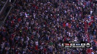 3rd Quarter, One Box Video: Washington Wizards vs. Toronto Raptors