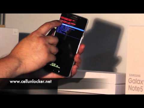 Samsung Galaxy Note 5 Tutorial - Forgot Password & Pattern Lock, Bypass Lockscreen, Factory Reset