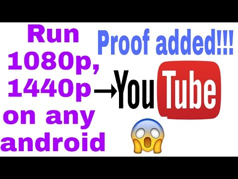 How to watch 1080p, 1440p on any android!!!