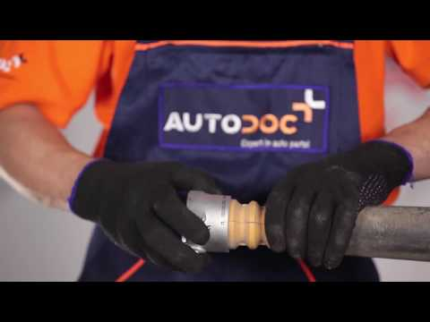 How to replace rear shock absorber mounts onFORD FIESTA 5[TUTORIAL]