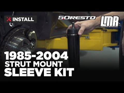 1985-2004 Mustang 5.0 Resto Strut Mount Sleeve Kit - Install & Review