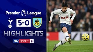 Son scores SENSATIONAL goal as Spurs thrash Burnley! | Tottenham 5-0 Burnley | EPL Highlights