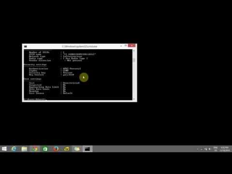 How to find wifi password by using CMD