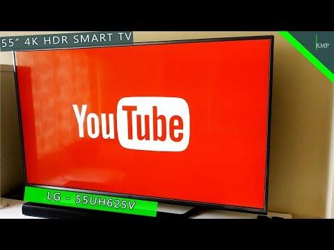 LG 55UH625V | 55 Inch 4K HDR Smart TV - Unboxing & Overview