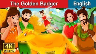 The Golden Badger Story | Bedtime Stories | English Fairy Tales