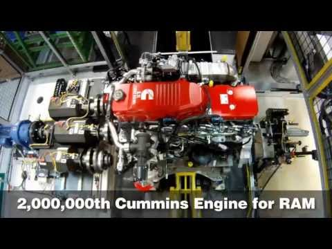 Cummins Builds Two-Millionth Pickup Engine for Ram HD Trucks