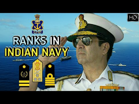 Ranks In Indian Navy | Indian Navy Ranks, Insignia And Hierarchy Explained (Hindi)
