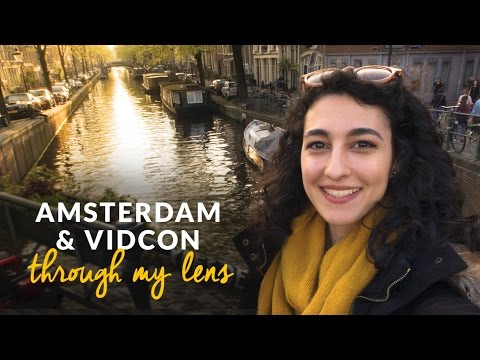 Amsterdam & Vidcon Europe Through My Lens