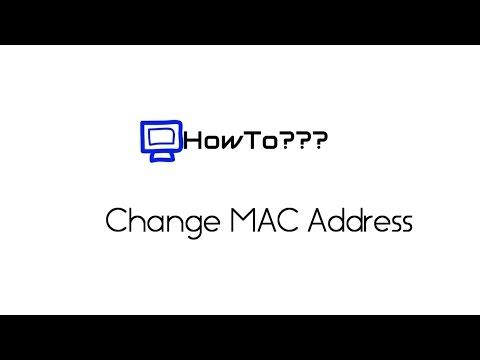 How to change MAC address     | Mac address spoofing