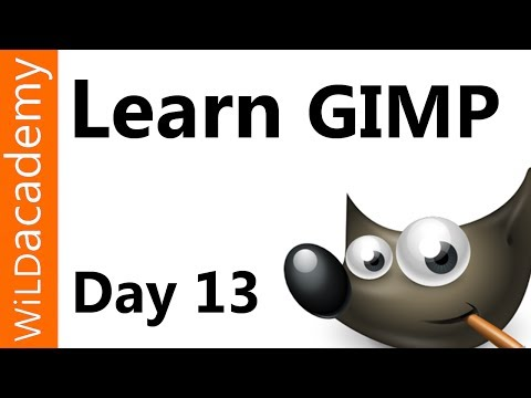 Learn Gimp Tutorial - Day 13 - Change Background Color