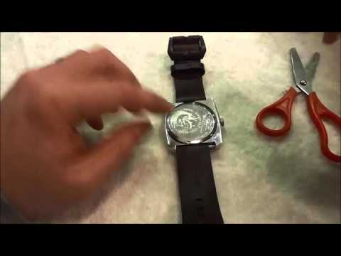 How To Unscrew A Watch Back With Scissors (No Case Wrench Needed)
