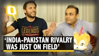 India-Pakistan Players Went Out, Ate Together After Games: Afridi | The Quint