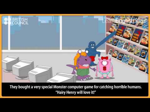 The monster shopping trip - Kids Stories - LearnEnglish Kids British Council