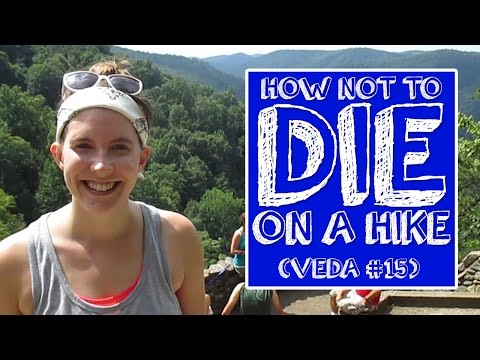 How Not to Die on a Hike | #SSSVEDA Day 15