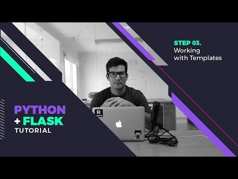 Step 03 - Working with Flask/Jinja Templates
