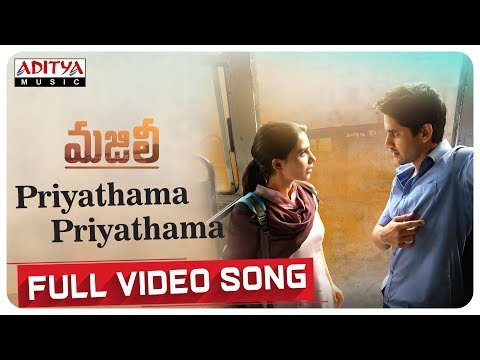 Xxx Mp4 Priyathama Priyathama Full Video Song MAJILI Video Songs Naga Chaitanya Samantha 3gp Sex
