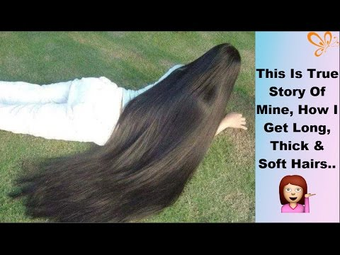 How To Grow Hair Fast In One Month | Get Soft, Shiny &  Long Hairs At Home | Guaranteed Remedy
