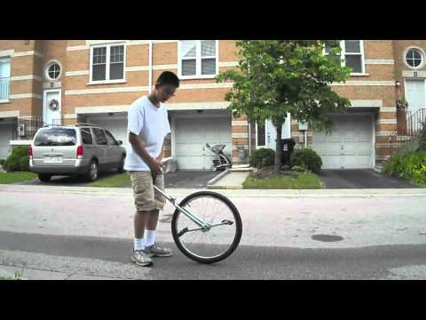 Unicycling Series: Episode 2 - How To Mount A Unicycle