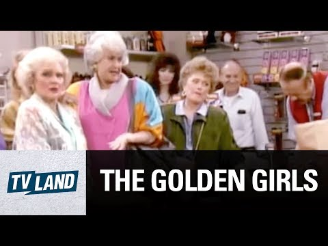 Condoms Rose! Condoms, Condoms, Condoms! | The Golden Girls | TV Land
