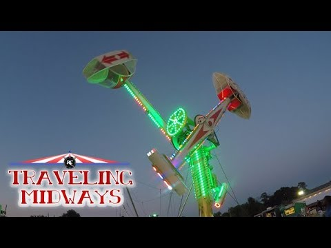 TRAVELING MIDWAYS VLOG: RUSS AMUSEMENTS - Hellam Carnival, PA