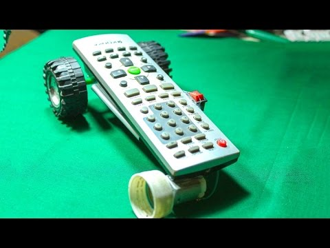 How to make a remote RC car Using a old remote controller