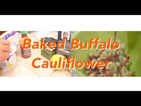 Baked Buffalo Cauliflower  Mark Rowe