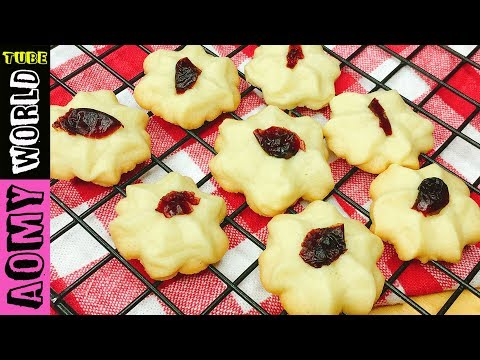 MELTING MOMENTS Cookies | Really Melt In Your Mouth | Butter Cookies Idea | Aomyworldtube