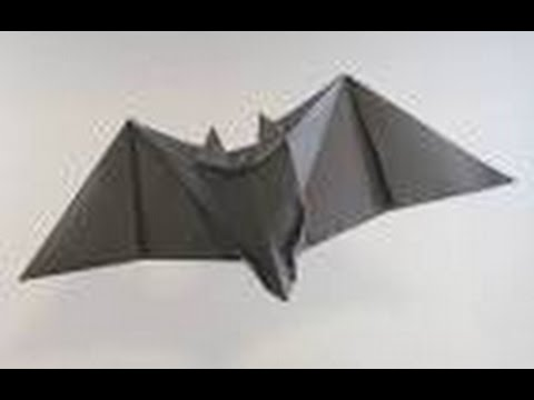How To Make A Origami Bat
