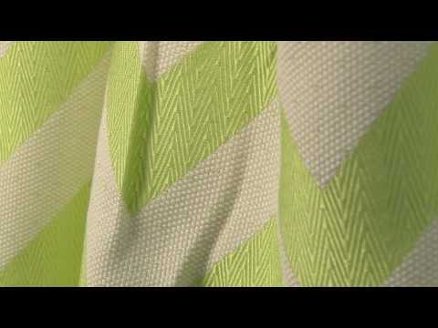 Video of HGTV Home 590271 Chevron Chic Citrine Fabric #104727