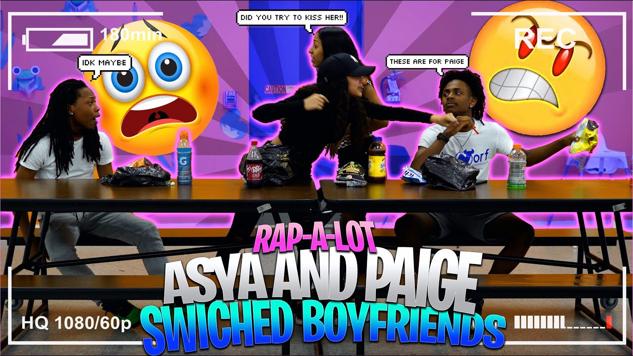 RAPALOT AYSA AND PAIGE SWITCH BOYFRIENDS FOR 24 HOURS!!!