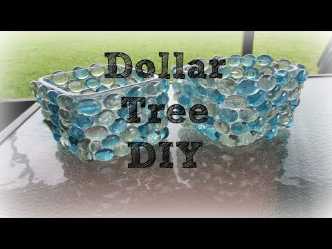 Dollar Tree DIY decor: $4 Winter wonderland themed