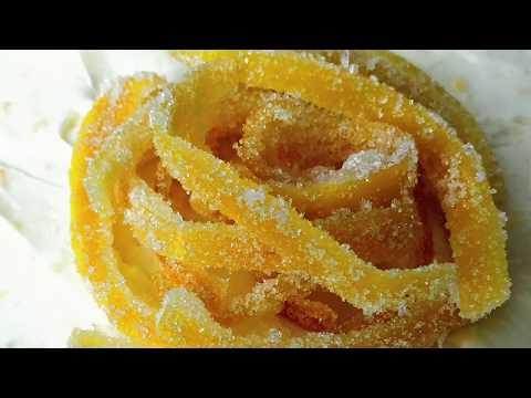 Homemade Candied Lemon Peel Recipe - How to Make Candied Lemon Peel