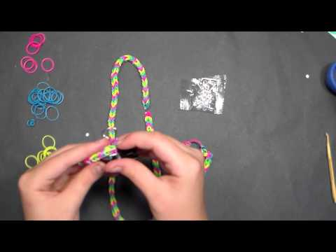 How to make a Loom Band Bracelet or Necklace