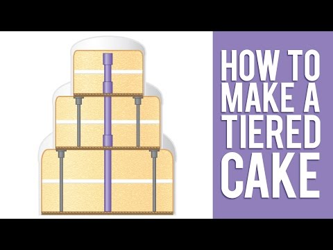 Learn How to Make a Tiered Cake