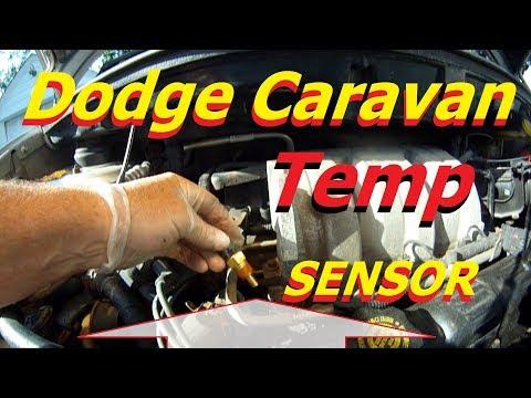 Dodge Caravan 3.3L temperature sensor install / location