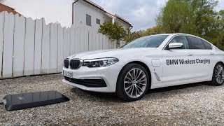 BMW has availability of its wireless charging platform for one of its vehicles to the United States