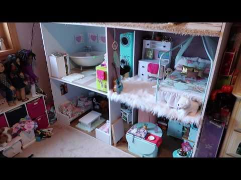 American Girl Doll House Tour! {November 2017}
