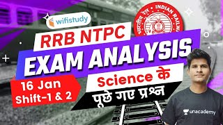 Science Questions Asked in RRB NTPC 16th Jan 2021 Exam | GS Questions by Neeraj Jangid