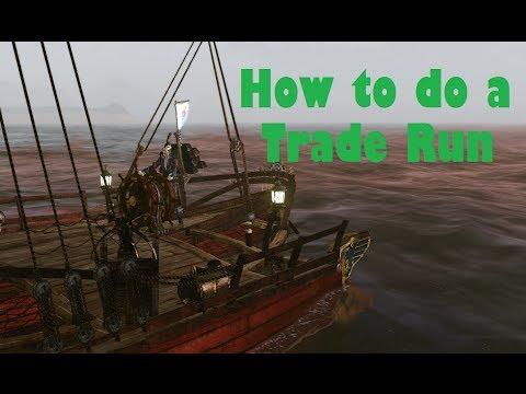 ArcheAge - How to do a Trade Run