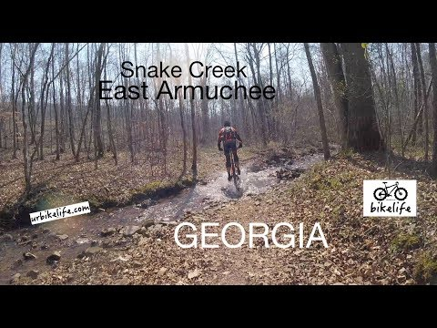 Snake Creek, East Armuchee, Georgia MTB Trail